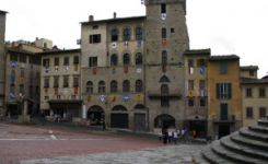 A short stop in Arezzo