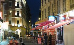 Nice, France without luggage
