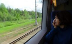To Moscow by train and our next adventure