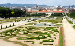 Vienna – Belvedere and the groom's dinner