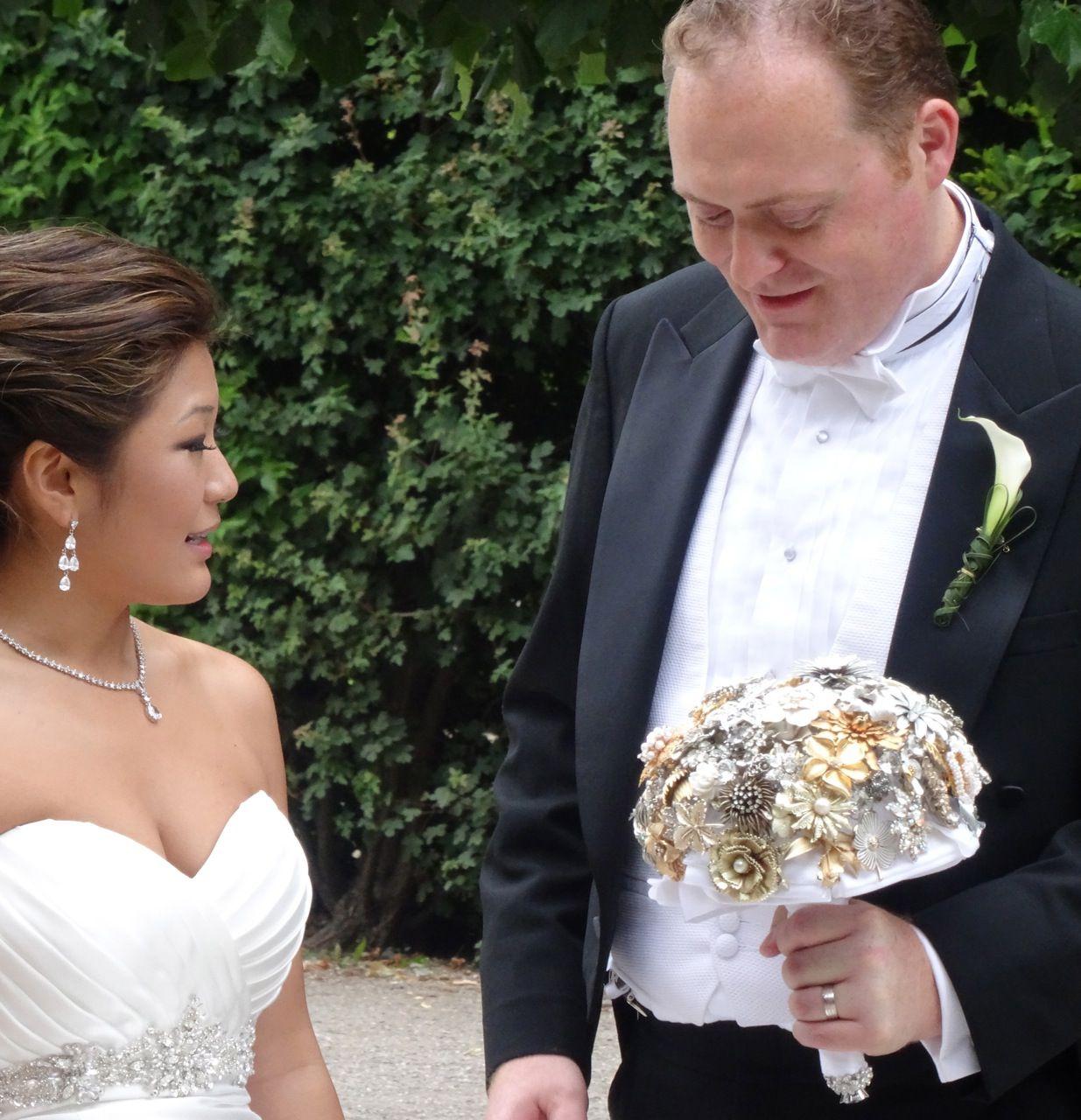 Schönbrunn Palace wedding day